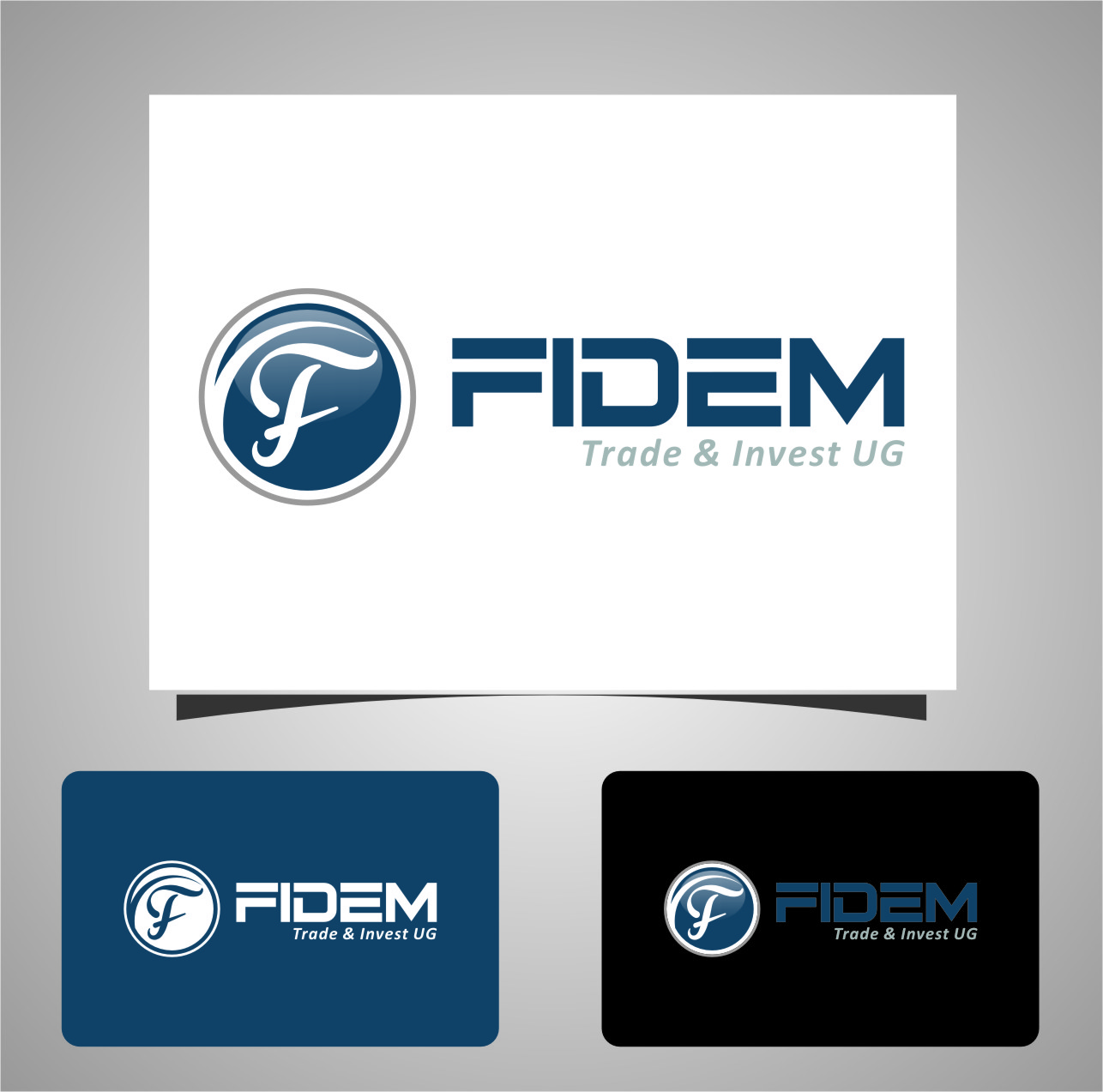 Logo Design by RasYa Muhammad Athaya - Entry No. 767 in the Logo Design Contest Professional Logo Design for FIDEM Trade & Invest UG.