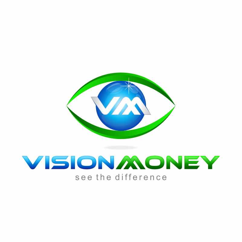 Logo Design by kotakdesign - Entry No. 27 in the Logo Design Contest Captivating Logo Design for VISION MONEY.