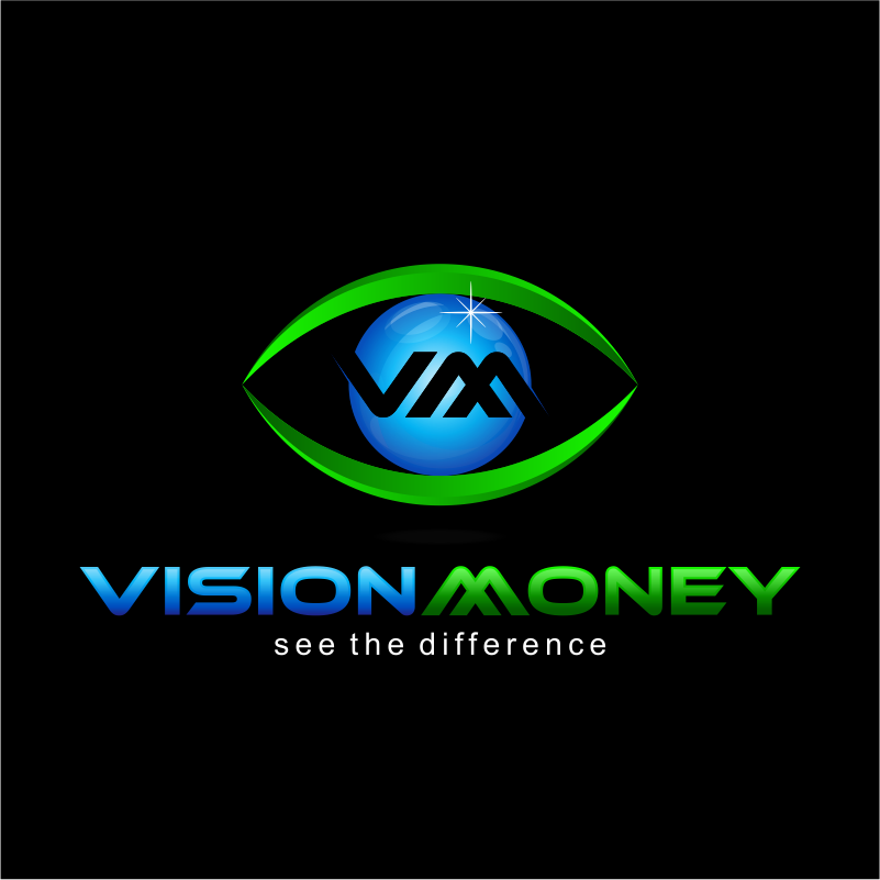 Logo Design by kotakdesign - Entry No. 28 in the Logo Design Contest Captivating Logo Design for VISION MONEY.