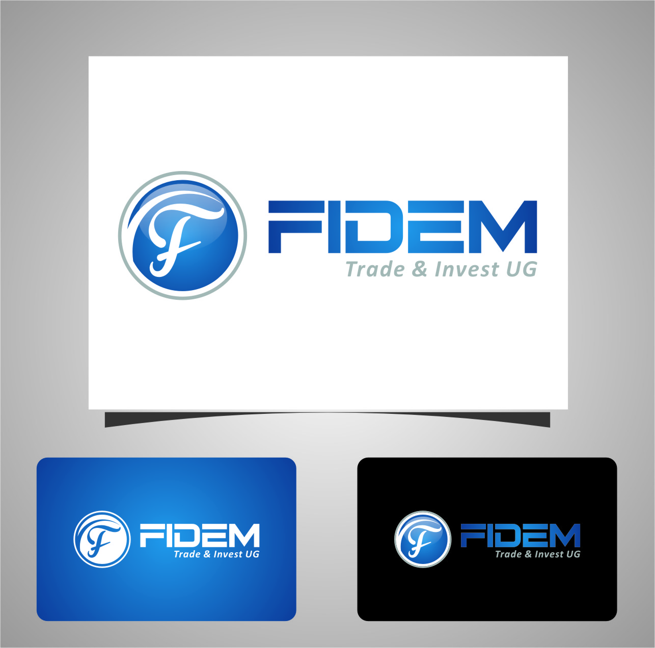 Logo Design by RasYa Muhammad Athaya - Entry No. 768 in the Logo Design Contest Professional Logo Design for FIDEM Trade & Invest UG.