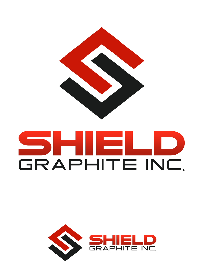 Logo Design by Private User - Entry No. 132 in the Logo Design Contest Imaginative Logo Design for Shield Graphite Inc..