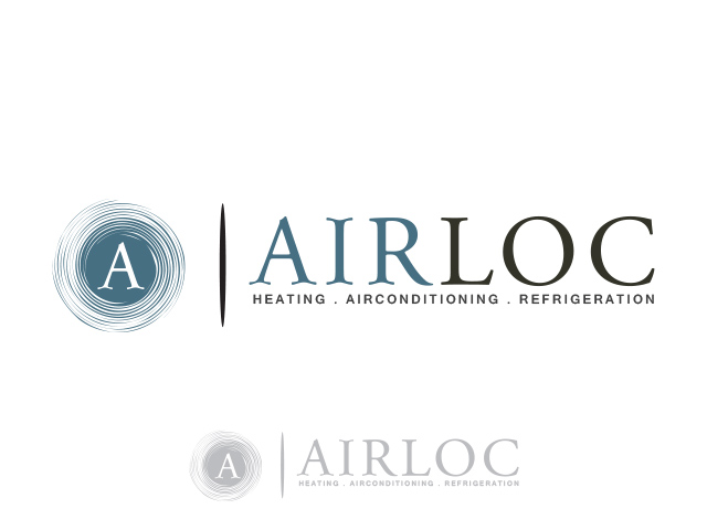 Logo Design by Kyaw Min Khaing - Entry No. 82 in the Logo Design Contest Airloc Logo Design.