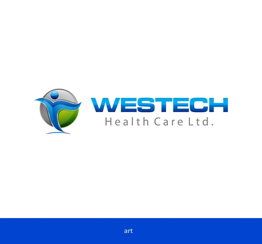 Logo Design by Puspita Wahyuni - Entry No. 46 in the Logo Design Contest Creative Logo Design for Westech Health Care Ltd..