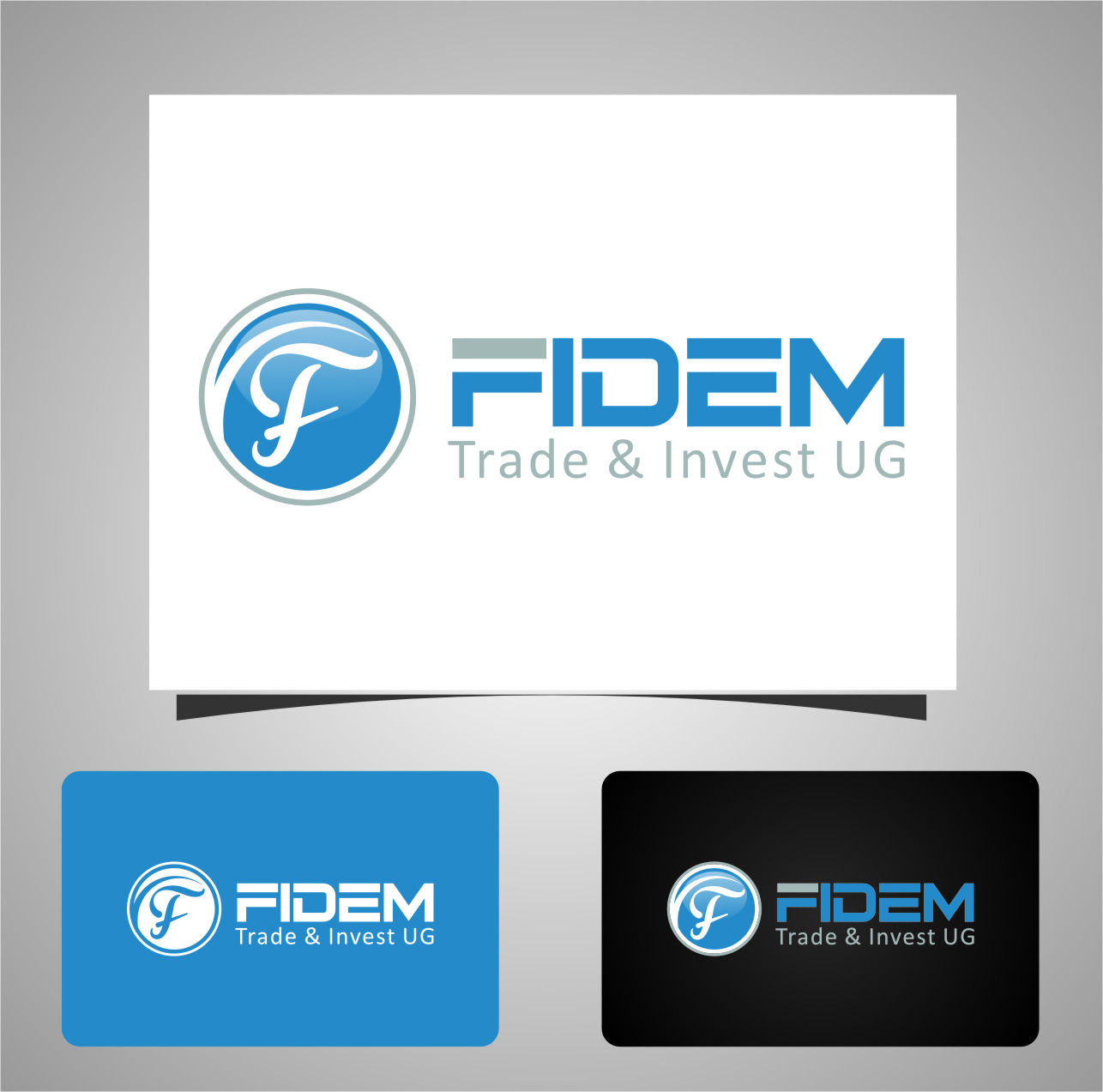 Logo Design by Ngepet_art - Entry No. 808 in the Logo Design Contest Professional Logo Design for FIDEM Trade & Invest UG.
