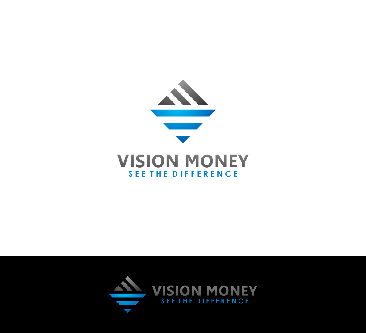 Logo Design by haidu - Entry No. 30 in the Logo Design Contest Captivating Logo Design for VISION MONEY.
