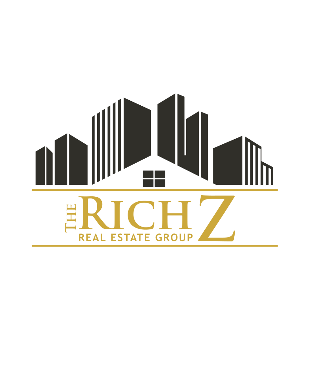 Logo Design by Private User - Entry No. 104 in the Logo Design Contest The Rich Z. Real Estate Group Logo Design.