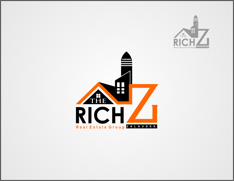 Logo Design by Agus Martoyo - Entry No. 108 in the Logo Design Contest The Rich Z. Real Estate Group Logo Design.