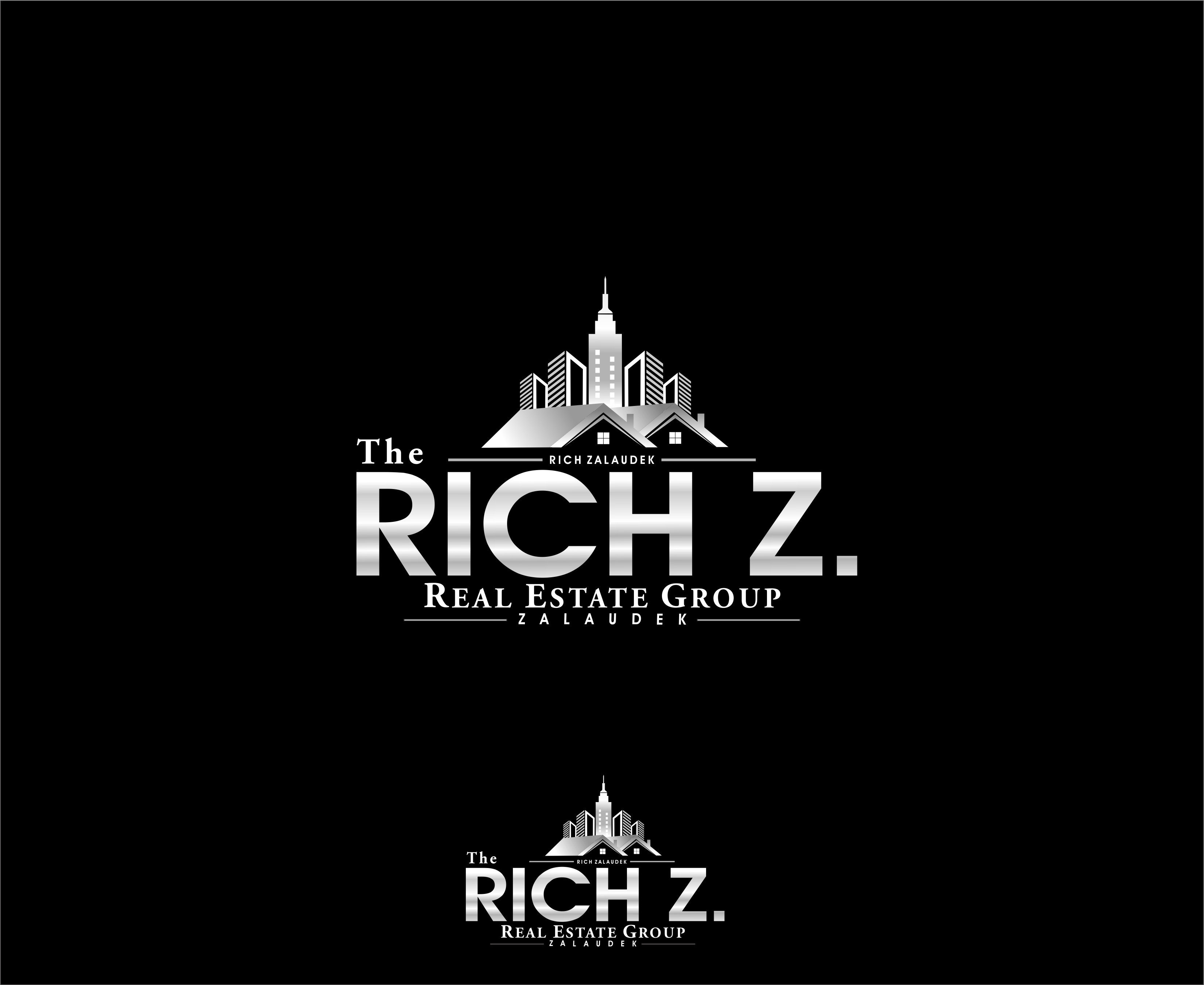 Logo Design by Mhon_Rose - Entry No. 114 in the Logo Design Contest The Rich Z. Real Estate Group Logo Design.