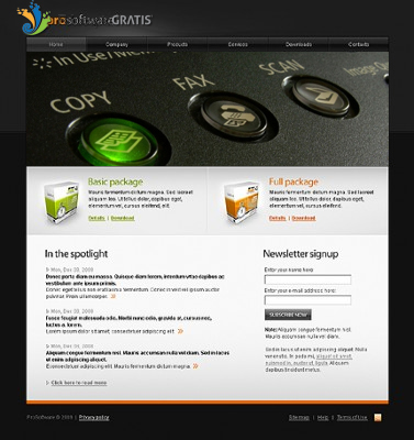 Web Page Design by tsyrette - Entry No. 1 in the Web Page Design Contest Inspiring Web Page Design for Fotocopiagratis.