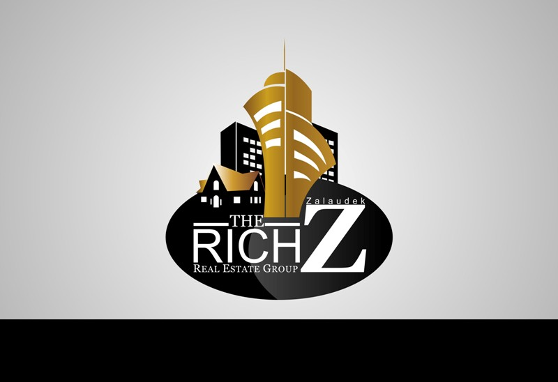 Logo Design by Crispin Jr Vasquez - Entry No. 122 in the Logo Design Contest The Rich Z. Real Estate Group Logo Design.