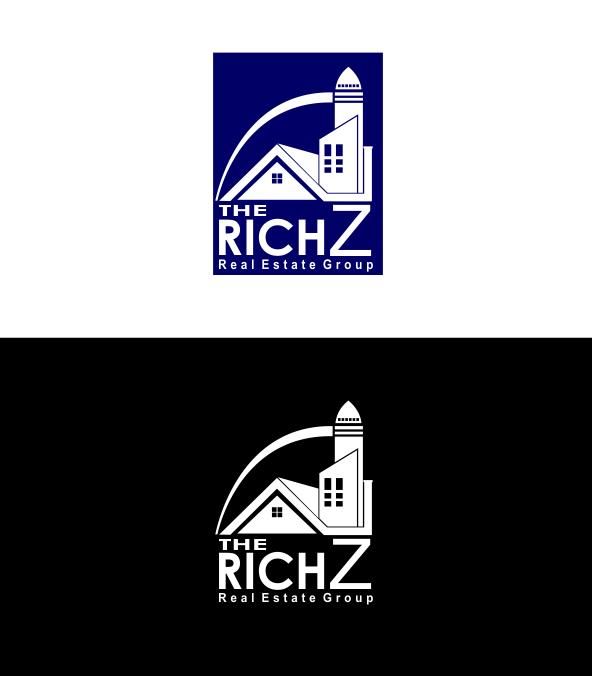 Logo Design by Agus Martoyo - Entry No. 123 in the Logo Design Contest The Rich Z. Real Estate Group Logo Design.