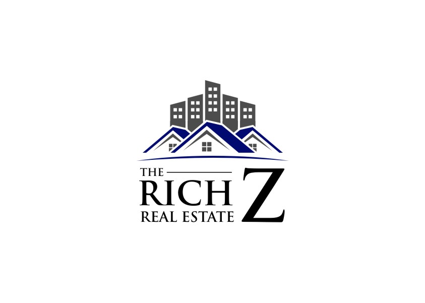 Logo Design by untung - Entry No. 124 in the Logo Design Contest The Rich Z. Real Estate Group Logo Design.