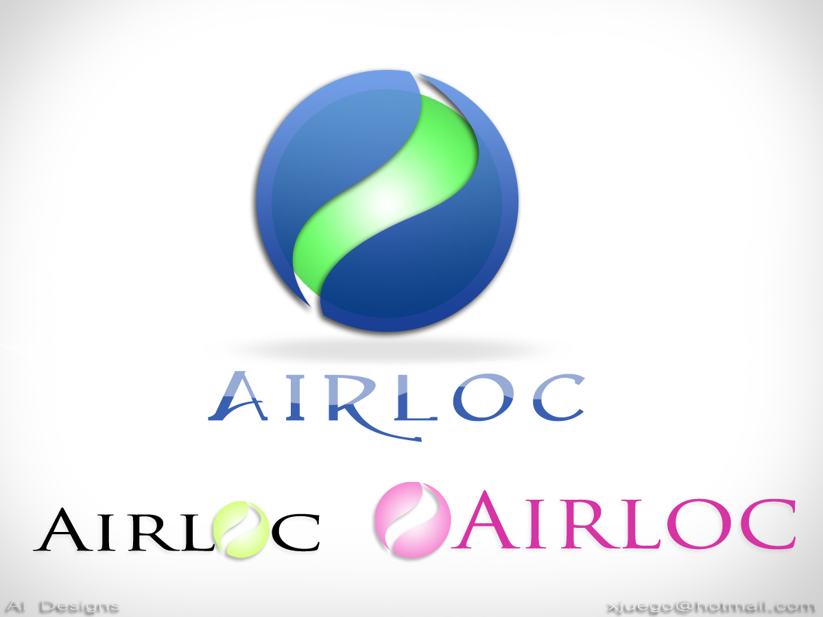 Logo Design by Private User - Entry No. 100 in the Logo Design Contest Airloc Logo Design.