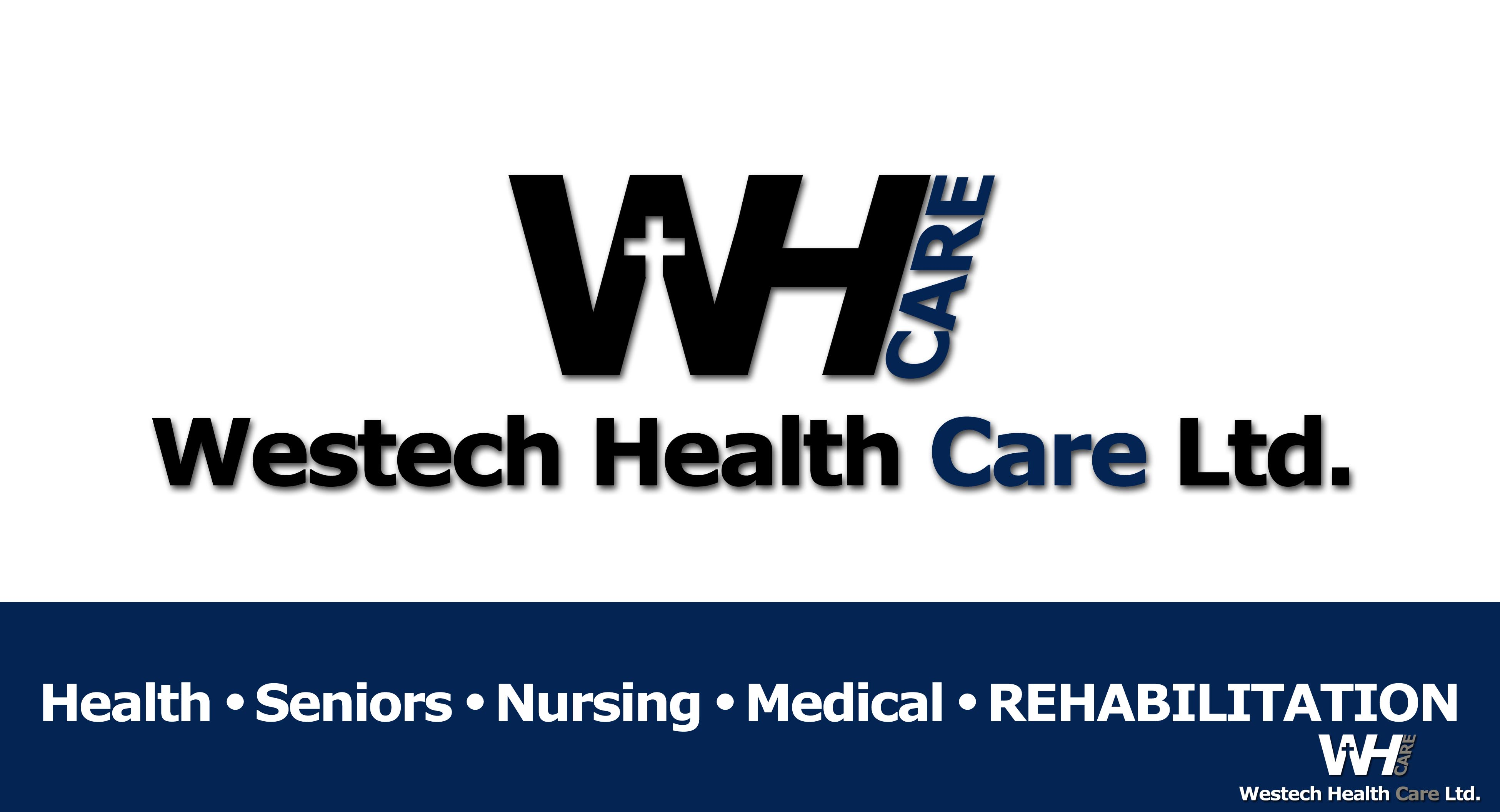 Logo Design by Cesar III Sotto - Entry No. 55 in the Logo Design Contest Creative Logo Design for Westech Health Care Ltd..