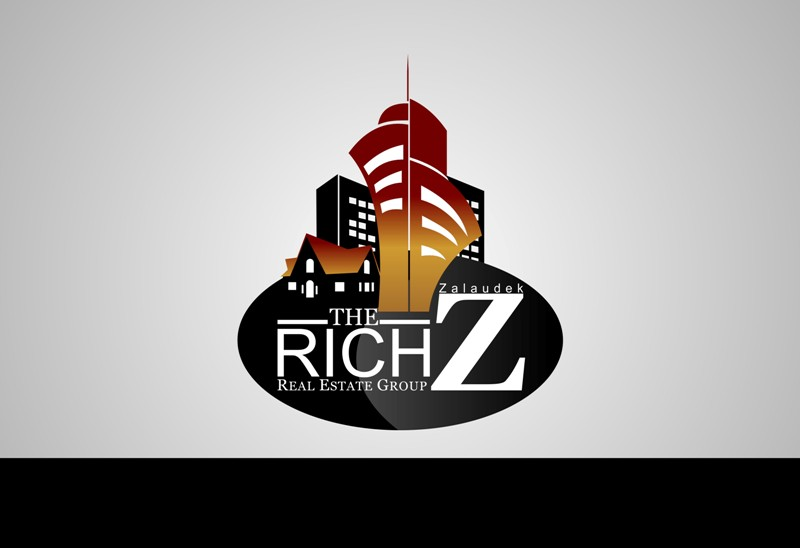 Logo Design by Crispin Jr Vasquez - Entry No. 132 in the Logo Design Contest The Rich Z. Real Estate Group Logo Design.