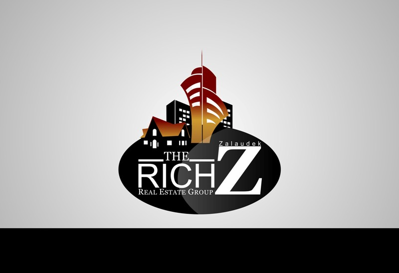 Logo Design by Crispin Jr Vasquez - Entry No. 133 in the Logo Design Contest The Rich Z. Real Estate Group Logo Design.