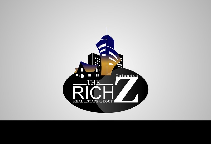 Logo Design by Crispin Jr Vasquez - Entry No. 134 in the Logo Design Contest The Rich Z. Real Estate Group Logo Design.
