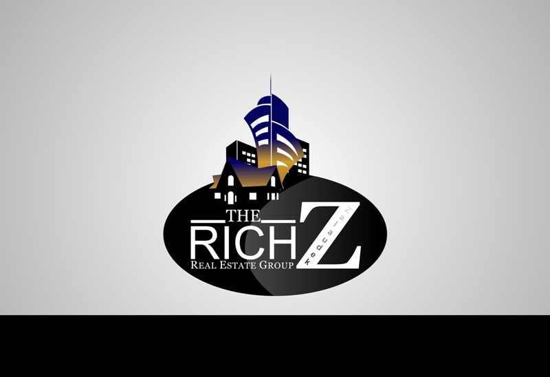 Logo Design by Crispin Jr Vasquez - Entry No. 135 in the Logo Design Contest The Rich Z. Real Estate Group Logo Design.