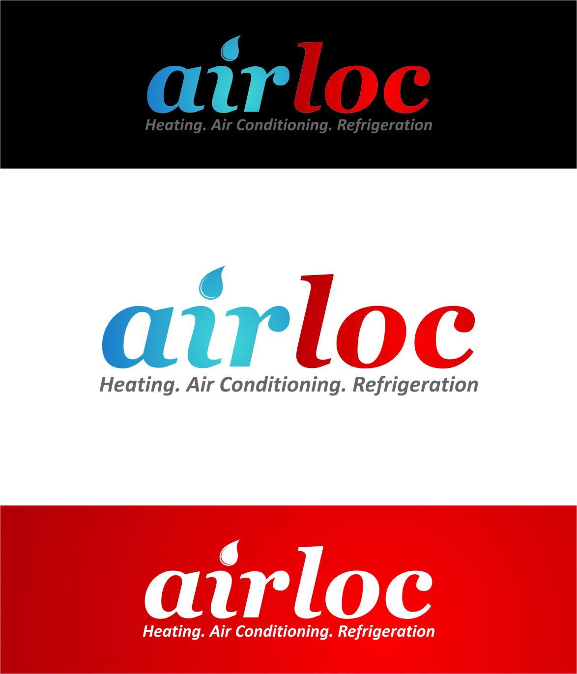 Logo Design by Ngepet_art - Entry No. 108 in the Logo Design Contest Airloc Logo Design.
