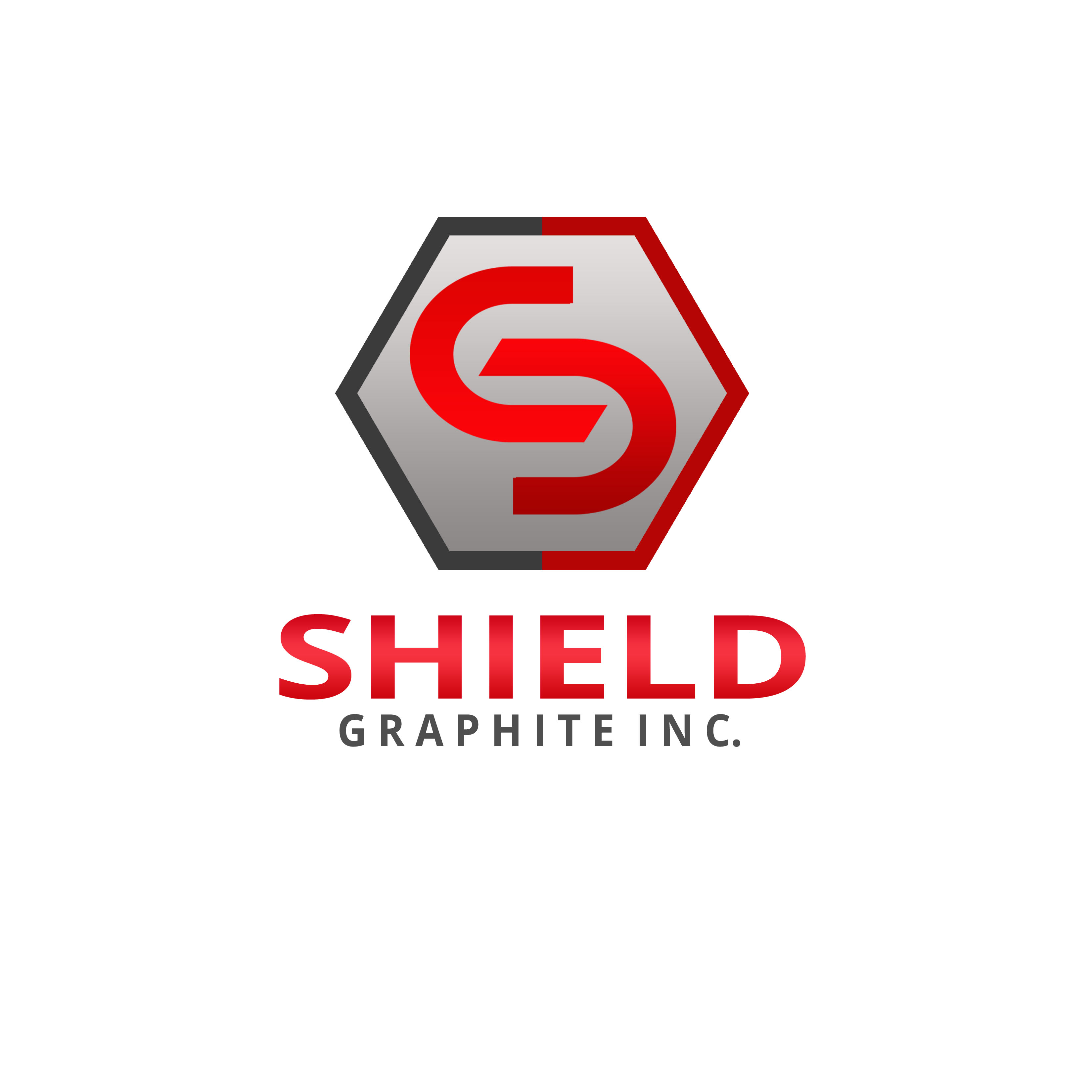 Logo Design by Allan Esclamado - Entry No. 139 in the Logo Design Contest Imaginative Logo Design for Shield Graphite Inc..