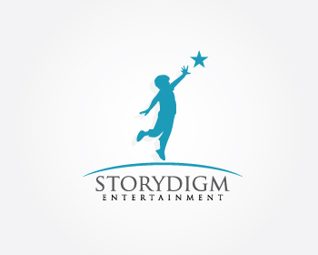 Logo Design by Private User - Entry No. 5 in the Logo Design Contest Inspiring Logo Design for Storydigm Entertainment.