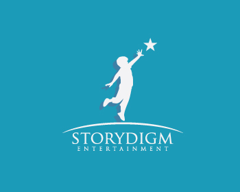 Logo Design by Private User - Entry No. 6 in the Logo Design Contest Inspiring Logo Design for Storydigm Entertainment.