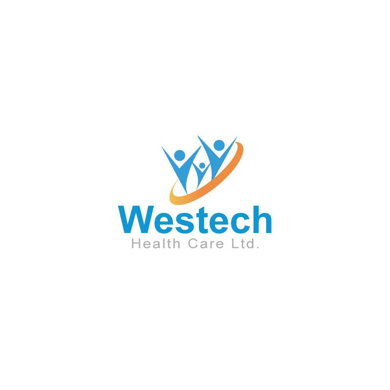 Logo Design by Private User - Entry No. 59 in the Logo Design Contest Creative Logo Design for Westech Health Care Ltd..
