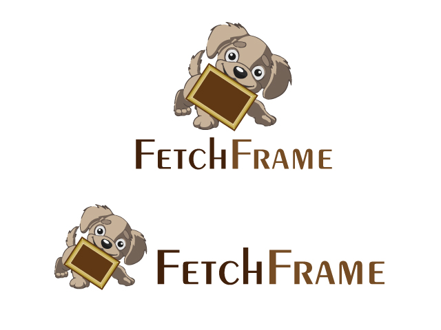 Logo Design by ronik.web - Entry No. 19 in the Logo Design Contest New Logo Design for FetchFrame.