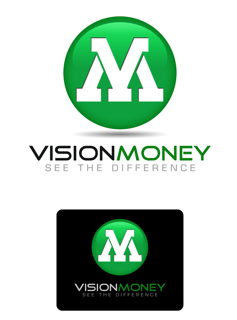Logo Design by Private User - Entry No. 37 in the Logo Design Contest Captivating Logo Design for VISION MONEY.