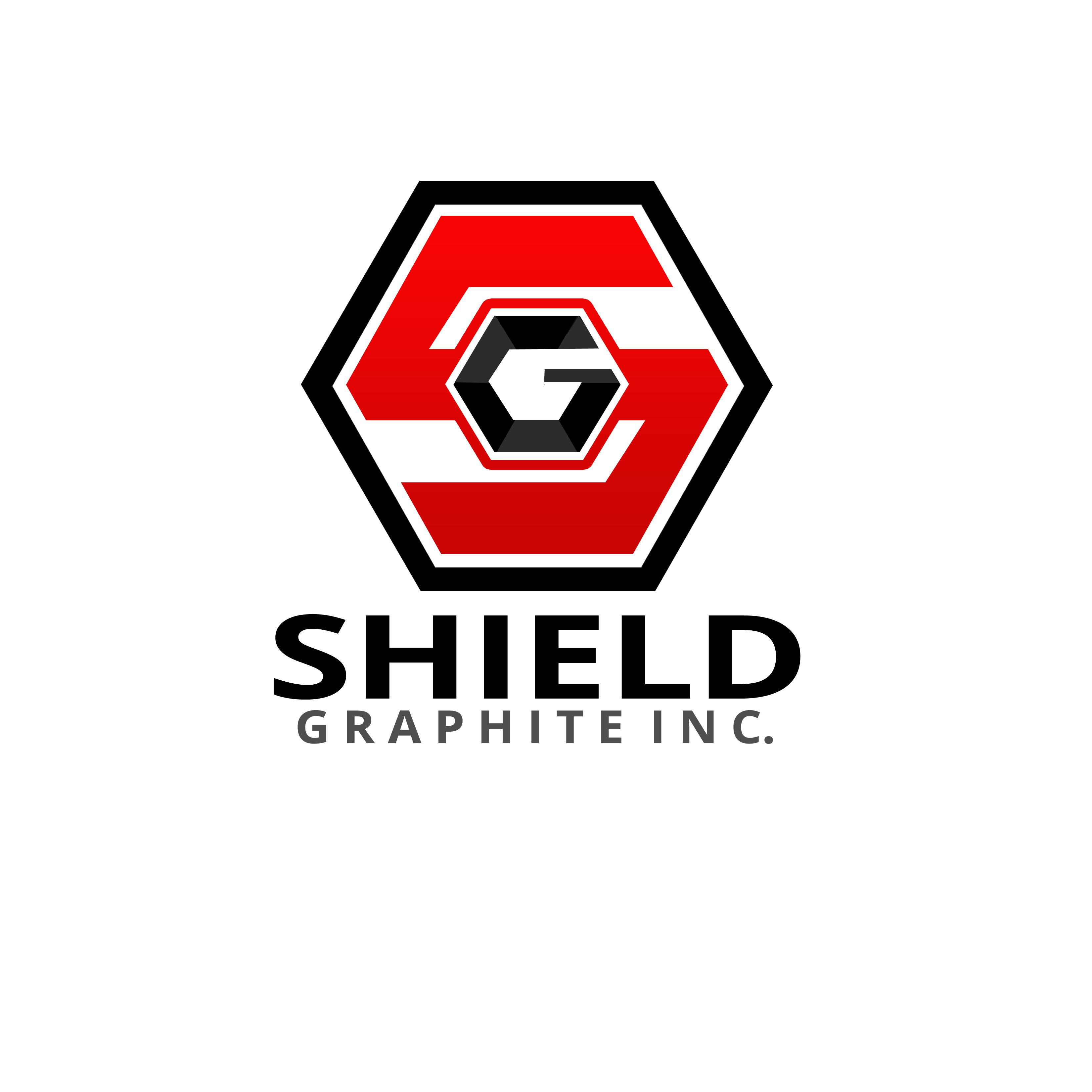 Logo Design by Allan Esclamado - Entry No. 142 in the Logo Design Contest Imaginative Logo Design for Shield Graphite Inc..