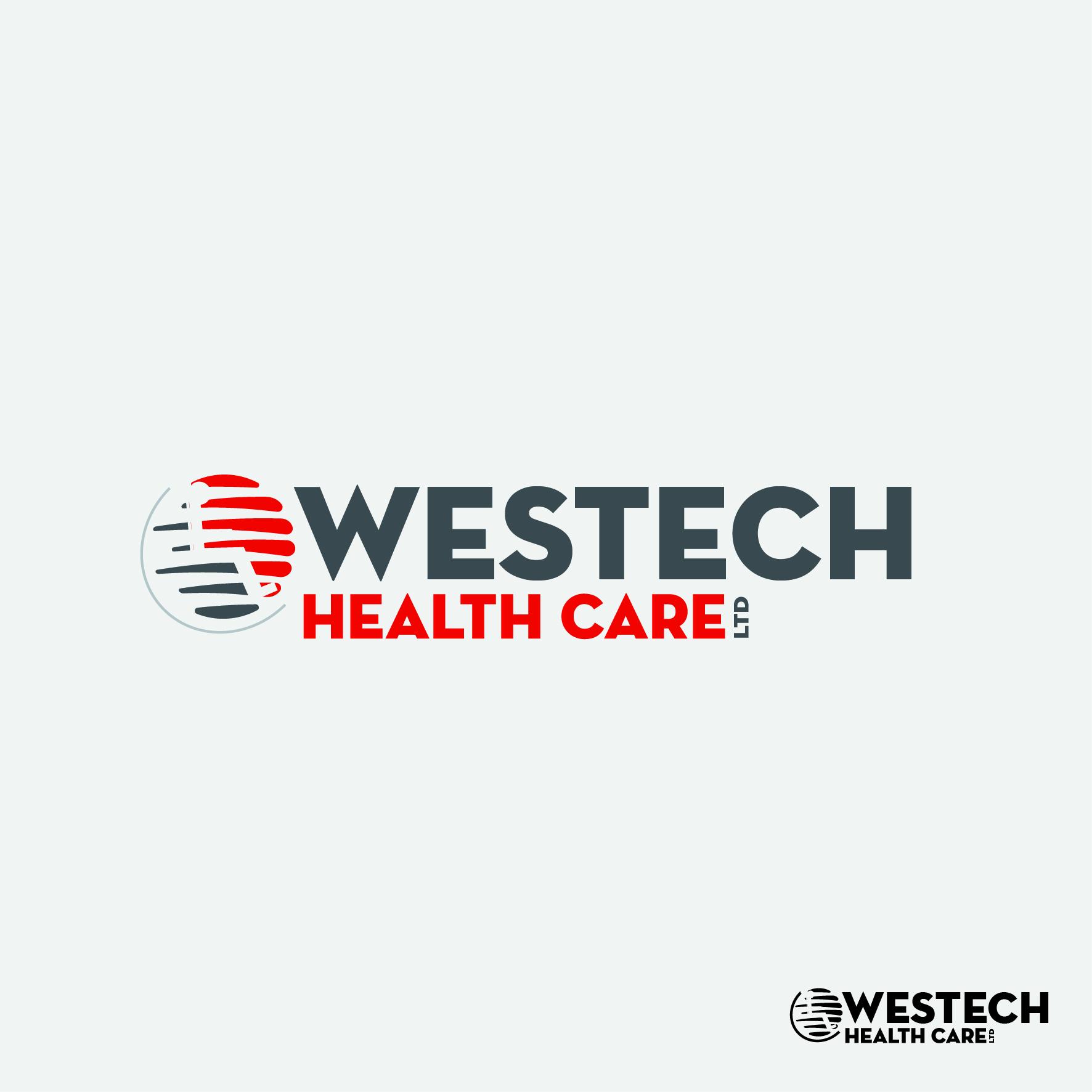 Logo Design by nTia - Entry No. 61 in the Logo Design Contest Creative Logo Design for Westech Health Care Ltd..