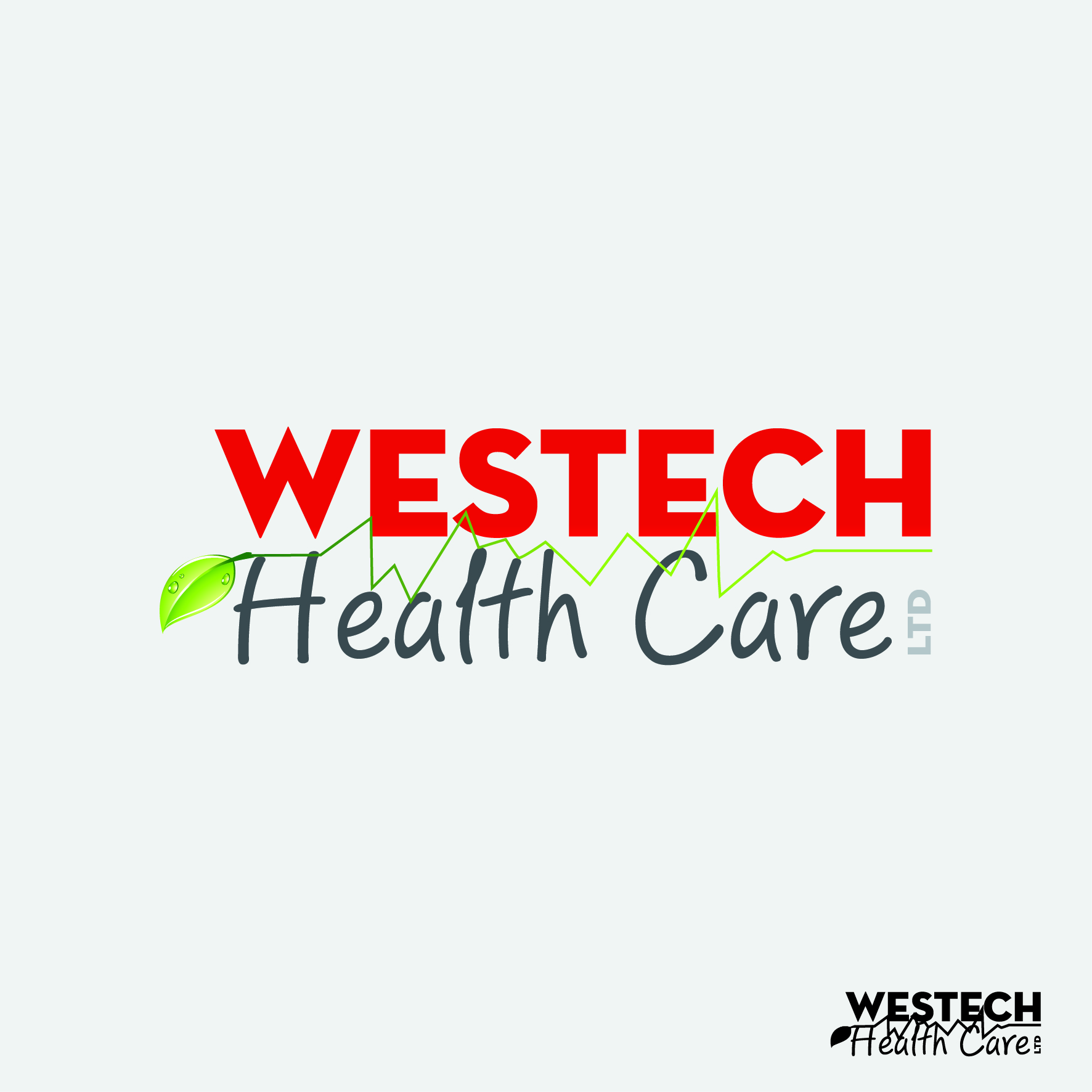Logo Design by nTia - Entry No. 62 in the Logo Design Contest Creative Logo Design for Westech Health Care Ltd..
