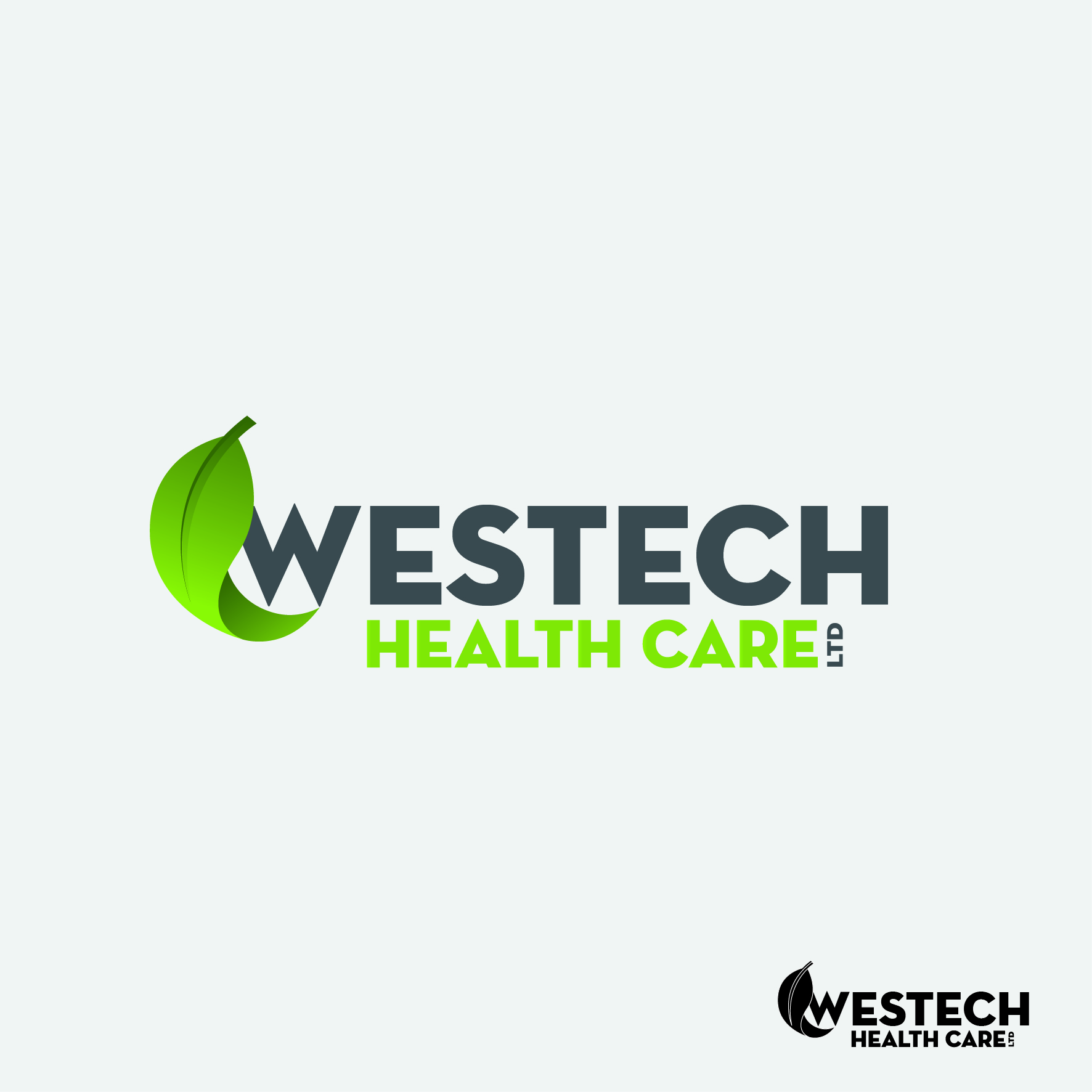 Logo Design by nTia - Entry No. 65 in the Logo Design Contest Creative Logo Design for Westech Health Care Ltd..