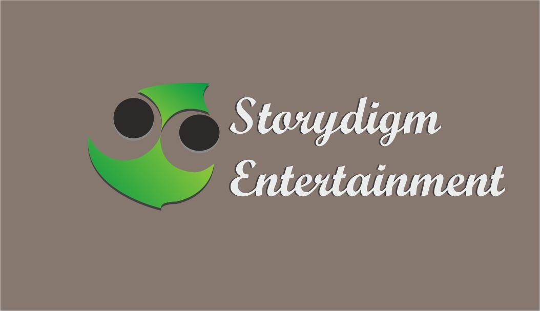 Logo Design by Vallabh Vinerkar - Entry No. 9 in the Logo Design Contest Inspiring Logo Design for Storydigm Entertainment.
