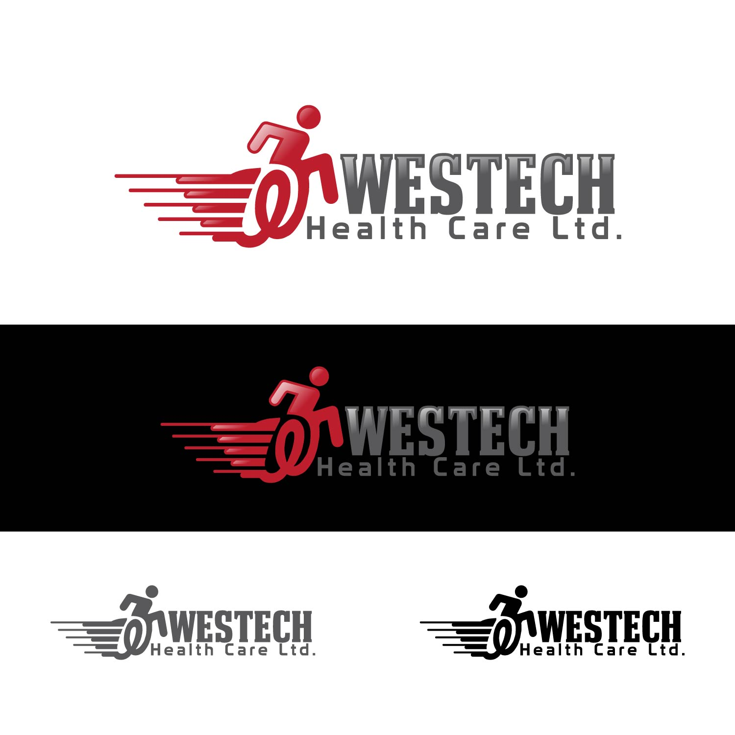 Logo Design by lagalag - Entry No. 71 in the Logo Design Contest Creative Logo Design for Westech Health Care Ltd..