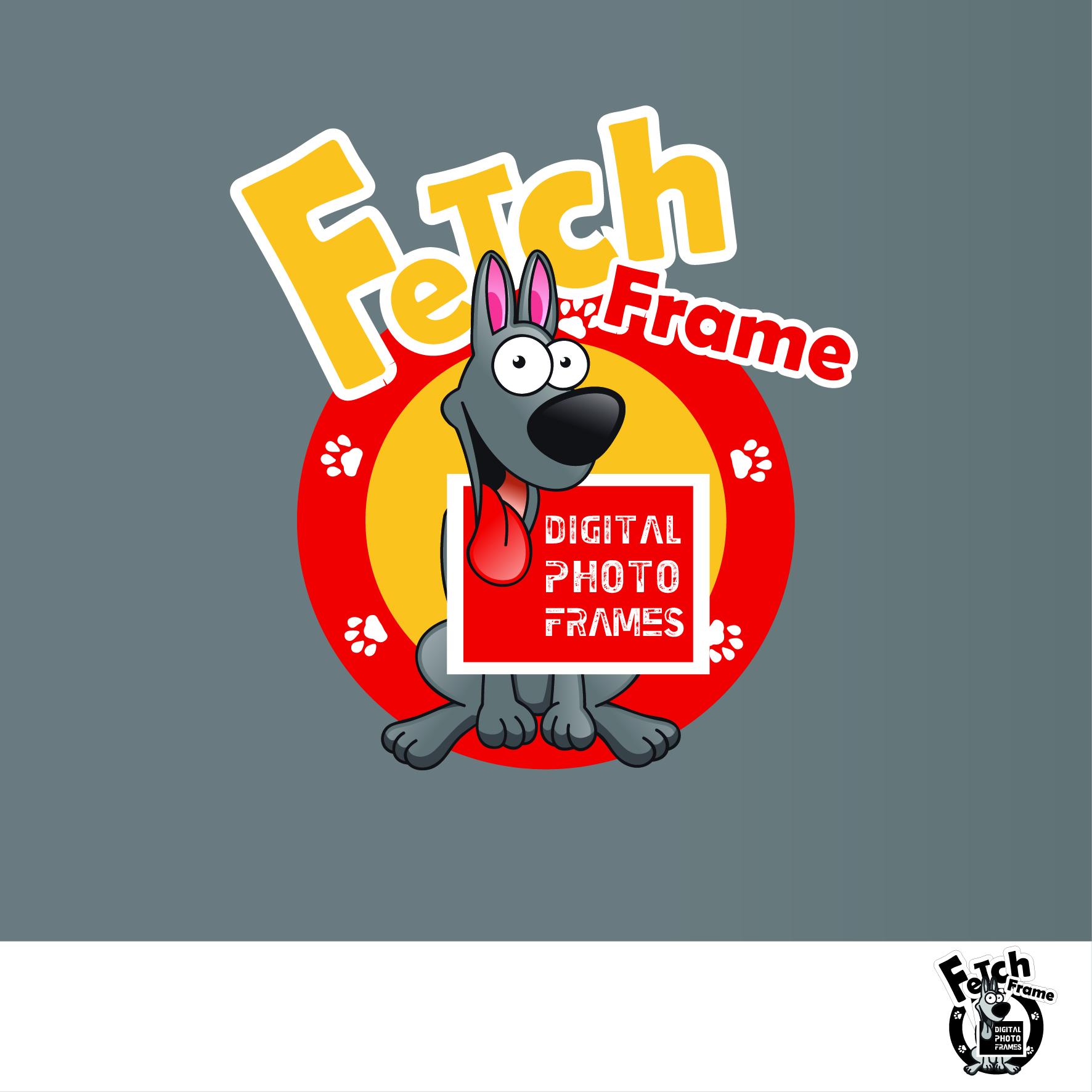 Logo Design by nTia - Entry No. 22 in the Logo Design Contest New Logo Design for FetchFrame.