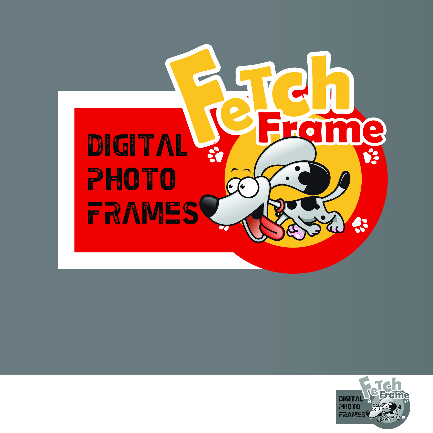 Logo Design by nTia - Entry No. 23 in the Logo Design Contest New Logo Design for FetchFrame.