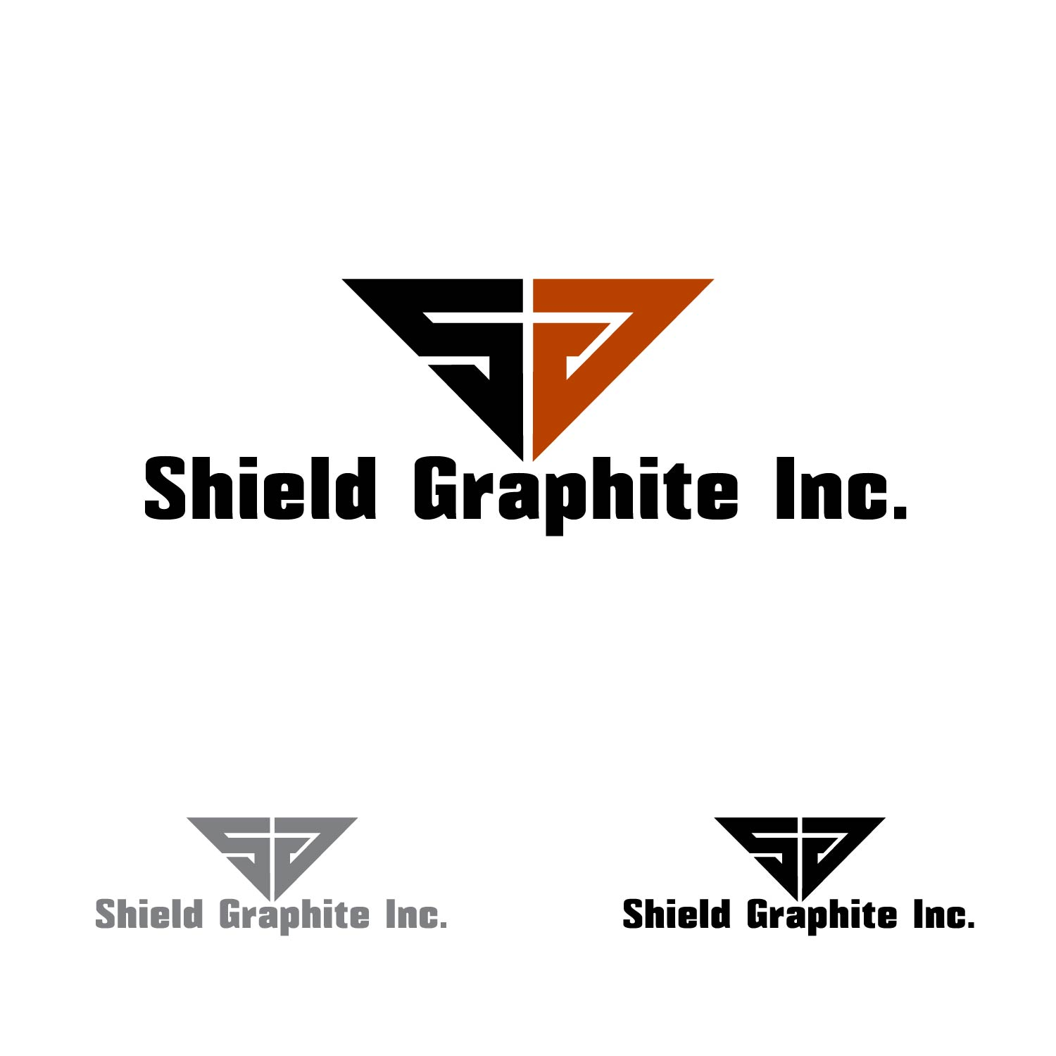 Logo Design by lagalag - Entry No. 147 in the Logo Design Contest Imaginative Logo Design for Shield Graphite Inc..