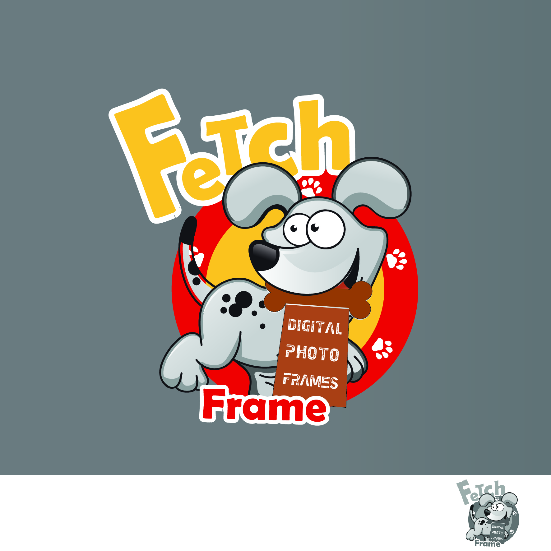 Logo Design by nTia - Entry No. 24 in the Logo Design Contest New Logo Design for FetchFrame.
