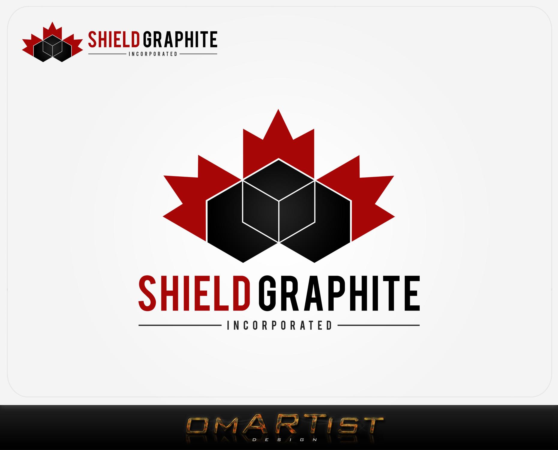 Logo Design by omARTist - Entry No. 153 in the Logo Design Contest Imaginative Logo Design for Shield Graphite Inc..