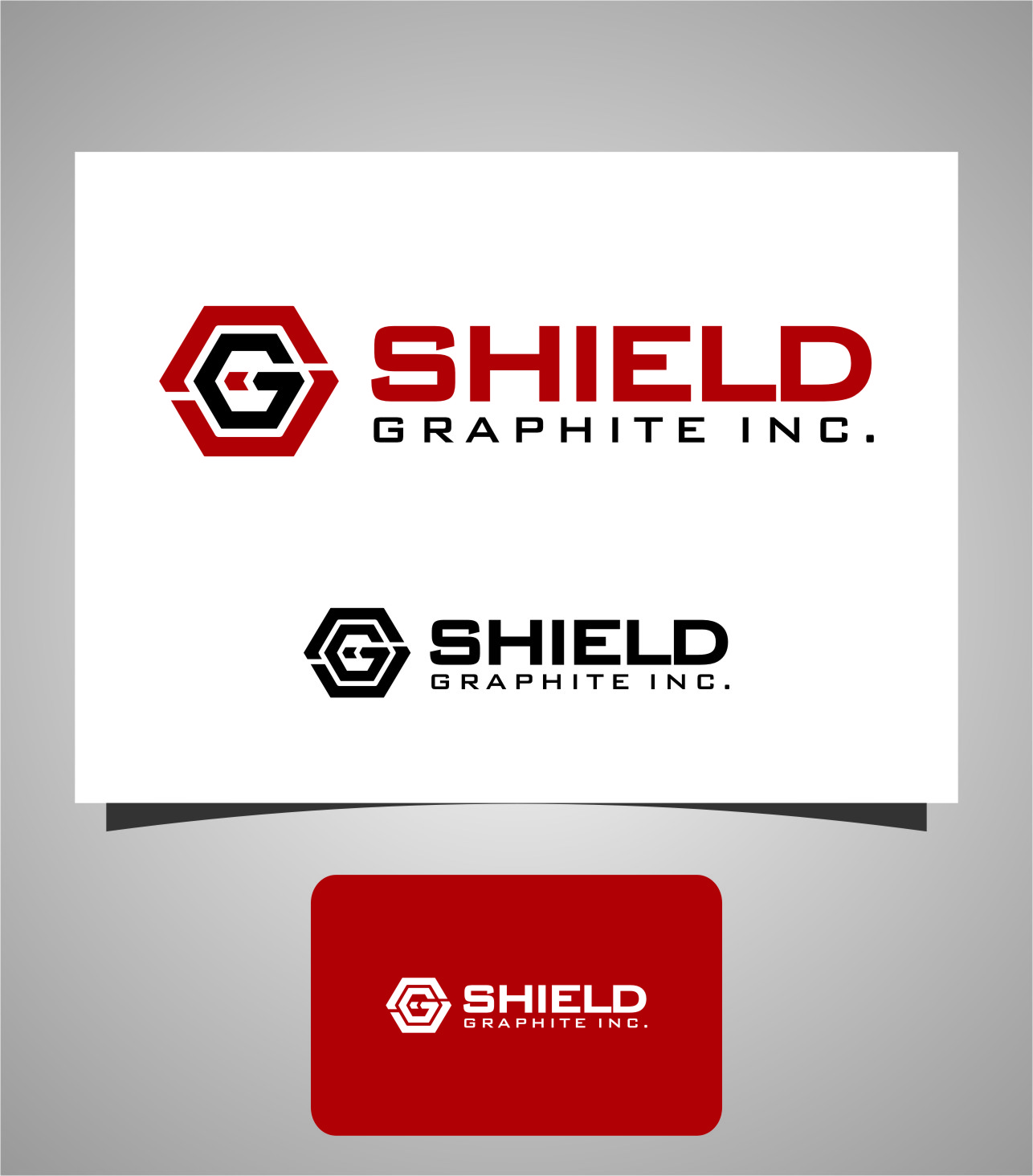 Logo Design by Ngepet_art - Entry No. 156 in the Logo Design Contest Imaginative Logo Design for Shield Graphite Inc..