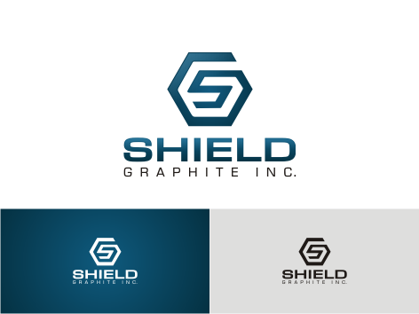 Logo Design by key - Entry No. 157 in the Logo Design Contest Imaginative Logo Design for Shield Graphite Inc..