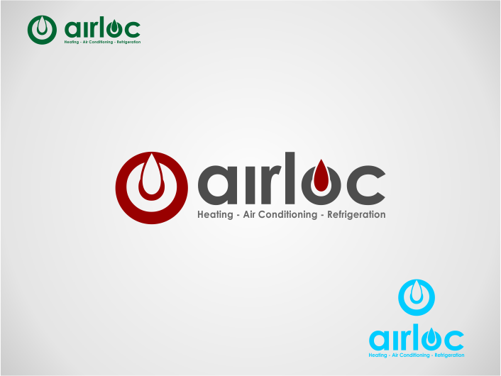 Logo Design by Agus Martoyo - Entry No. 124 in the Logo Design Contest Airloc Logo Design.