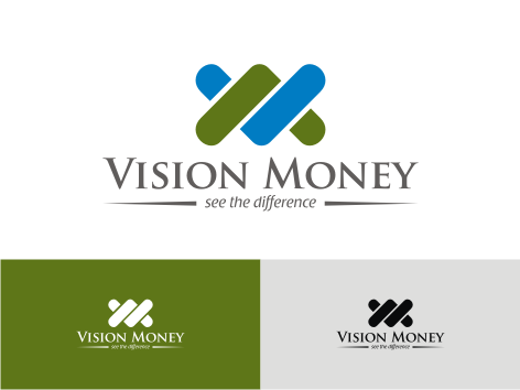 Logo Design by key - Entry No. 40 in the Logo Design Contest Captivating Logo Design for VISION MONEY.