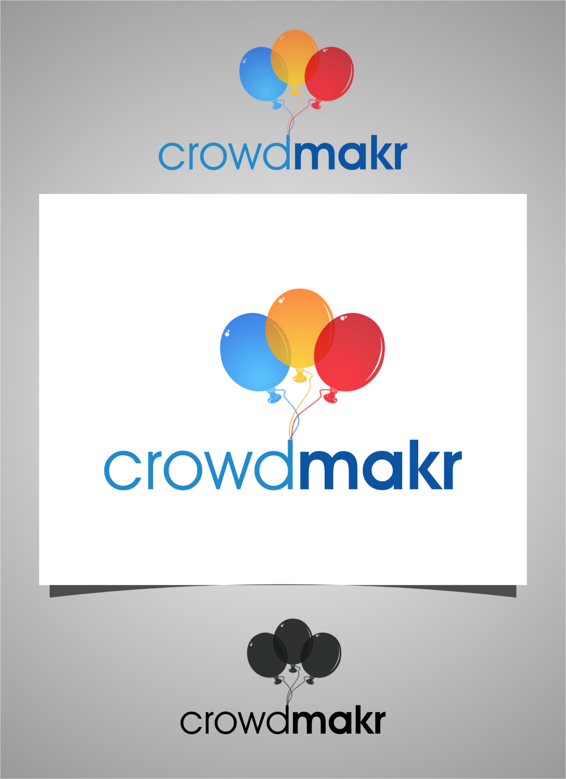 Logo Design by RasYa Muhammad Athaya - Entry No. 3 in the Logo Design Contest Unique Logo Design Wanted for crowdmakr.