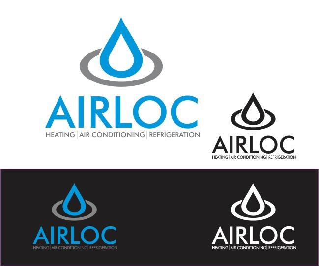 Logo Design by ronny - Entry No. 127 in the Logo Design Contest Airloc Logo Design.