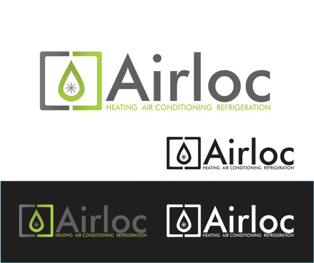 Logo Design by ronny - Entry No. 128 in the Logo Design Contest Airloc Logo Design.