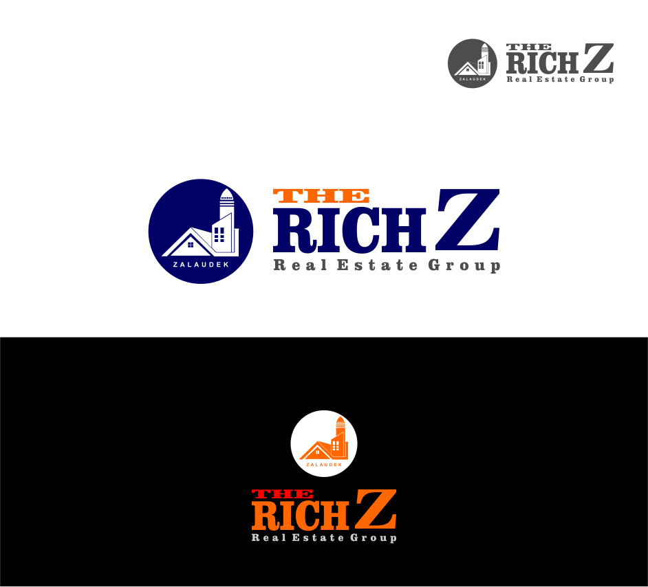 Logo Design by Agus Martoyo - Entry No. 168 in the Logo Design Contest The Rich Z. Real Estate Group Logo Design.