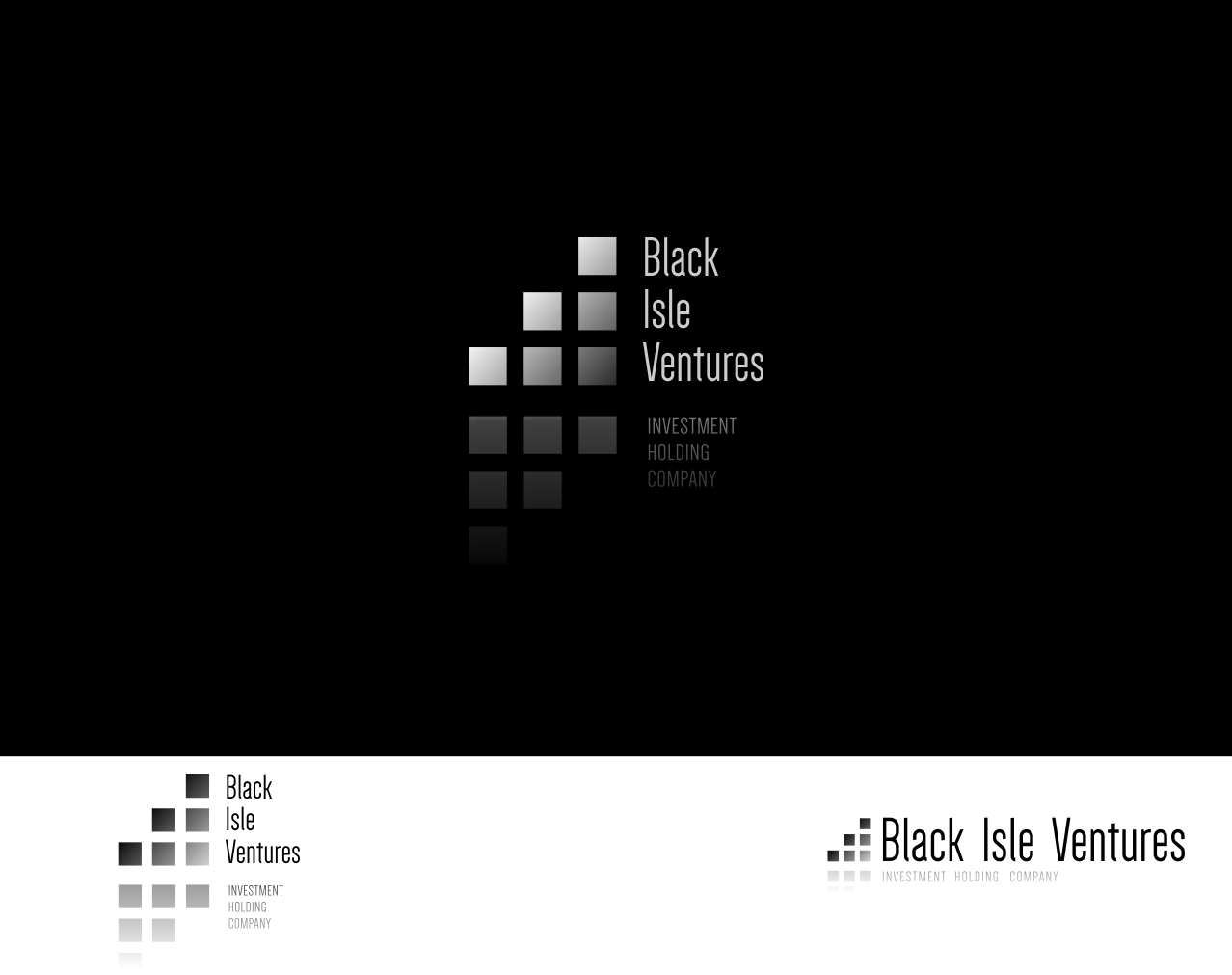 Logo Design by Q_Division_Designs - Entry No. 8 in the Logo Design Contest Creative Logo Design for Black Isle Ventures.