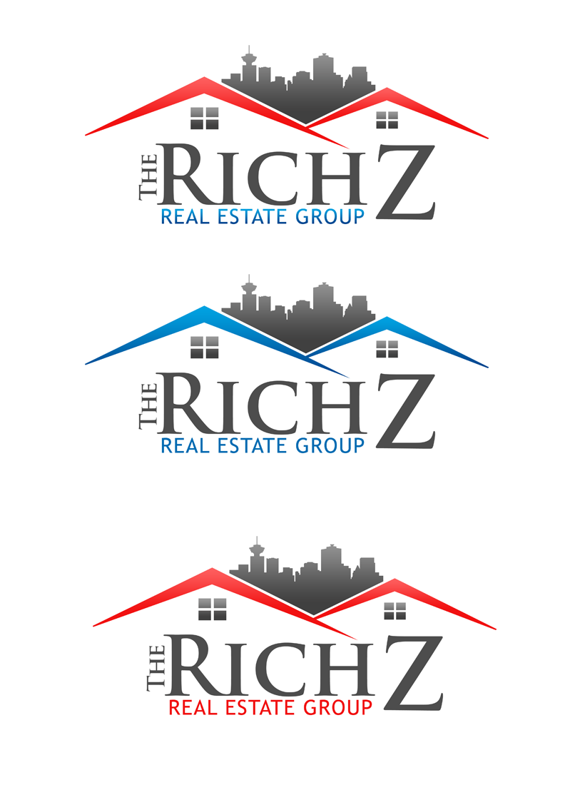 Logo Design by Private User - Entry No. 170 in the Logo Design Contest The Rich Z. Real Estate Group Logo Design.